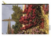 Fiori Rosssi E Muri Gialli Carry-all Pouch