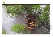 Fir Cone Digital Painting Carry-all Pouch