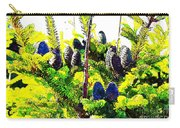 Fir Tree Buds Abstract Carry-all Pouch