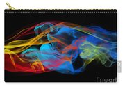 Fire And Ice Smoke  Carry-all Pouch