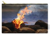 Fire And Smoke Carry-all Pouch
