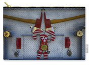 Fire Department Christmas 3 Carry-all Pouch