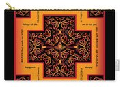 Fire Dragon Celtic Cross Carry-all Pouch