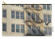 Fire Escape And Bird Carry-all Pouch