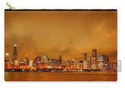 Fire In A Chicago Night Sky Carry-all Pouch