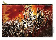 Fire In The Corn Field Carry-all Pouch