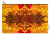 Fire In The Sky Abstract Pattern Artwork Carry-all Pouch