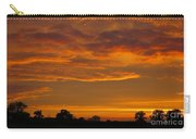 Fire In The Sky Carry-all Pouch by Ann Horn