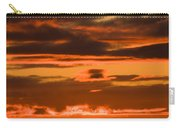Fire In The Sky Carry-all Pouch by Anne Gilbert