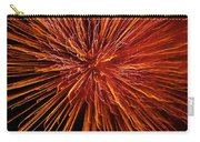 Fire In The Sky Carry-all Pouch by Carolyn Marshall