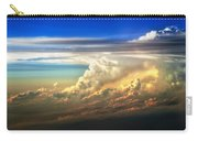 Fire In The Sky From 35000 Feet Carry-all Pouch by Scott Norris
