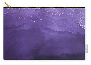 Fire On The Mountain Original Painting Carry-all Pouch