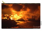 Fire Over The Ocean Carry-all Pouch