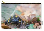 Fire Salamander Dry Leaves Carry-all Pouch