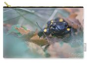 Fire Salamander Front View Carry-all Pouch