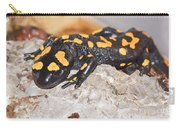 Fire Salamander Salamandra Salamandra Carry-all Pouch