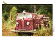 Fire Truck Digital Painted Carry-all Pouch