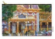 Fire Truck Main Street Disneyland Photo Art 02 Carry-all Pouch