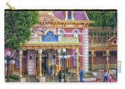 Fire Truck Main Street Disneyland Carry-all Pouch