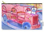 Fire Truck Carry-all Pouch