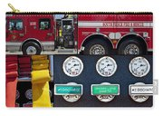 Fire Truck With Isolated Views Carry-all Pouch