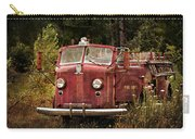 Fire Truck With Texture Carry-all Pouch