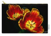 Fire Tulip Flowers Carry-all Pouch