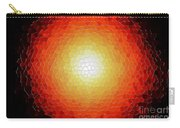 Fireball Sunburst A Tiffany Look Stain Glass Carry-all Pouch