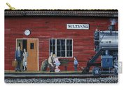 Train Station Mural Sultan Washington 3 Carry-all Pouch