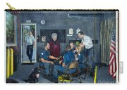 Firehall Mural Sultan Washington 4 Carry-all Pouch
