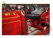 Fireman - Fire Engine No 3 Carry-all Pouch by Mike Savad