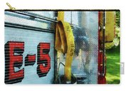 Fireman - Hose In Bucket On Fire Truck Carry-all Pouch