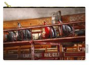 Fireman - Ladder Company 1 Carry-all Pouch by Mike Savad