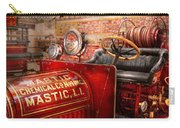 Fireman - Mastic Chemical Co Carry-all Pouch by Mike Savad