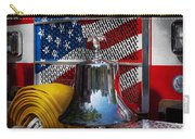 Fireman - Red Hot  Carry-all Pouch by Mike Savad