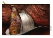 Fireman - The Fire Chief Carry-all Pouch by Mike Savad