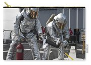 Firemen Confirm A Simulated Fire Carry-all Pouch