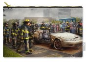 Firemen - The Fire Demonstration Carry-all Pouch by Mike Savad