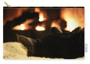 Fireside Cat Nap Carry-all Pouch