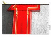 Firestone Building Red Neon T Carry-all Pouch