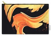 Firewater 5 - Abstract Art By Sharon Cummings Carry-all Pouch
