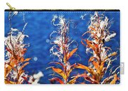 Fireweed Flower Carry-all Pouch by Heiko Koehrer-Wagner