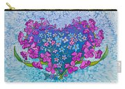 Fireweed Heart Carry-all Pouch