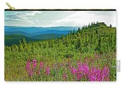 Fireweed Near Top Of The World Highway-alaska Carry-all Pouch