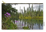 Fireweed On The Clearwater Carry-all Pouch