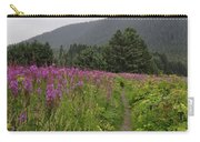 Fireweed Path At Fish Creek Carry-all Pouch