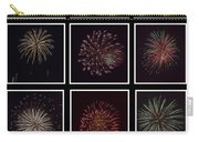 Fireworks - Black Background Carry-all Pouch