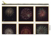 Fireworks - White Background Carry-all Pouch