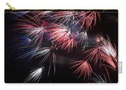 Fireworks 9 Carry-all Pouch by Sandy Swanson