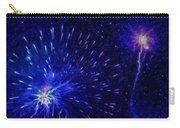 Fireworks At Night 1 Carry-all Pouch